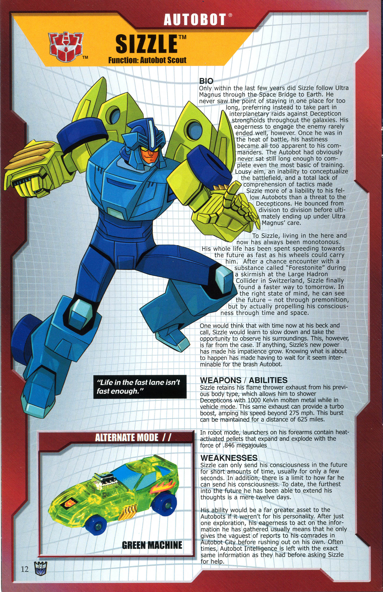 Read online Transformers: Collectors' Club comic -  Issue #44 - 12