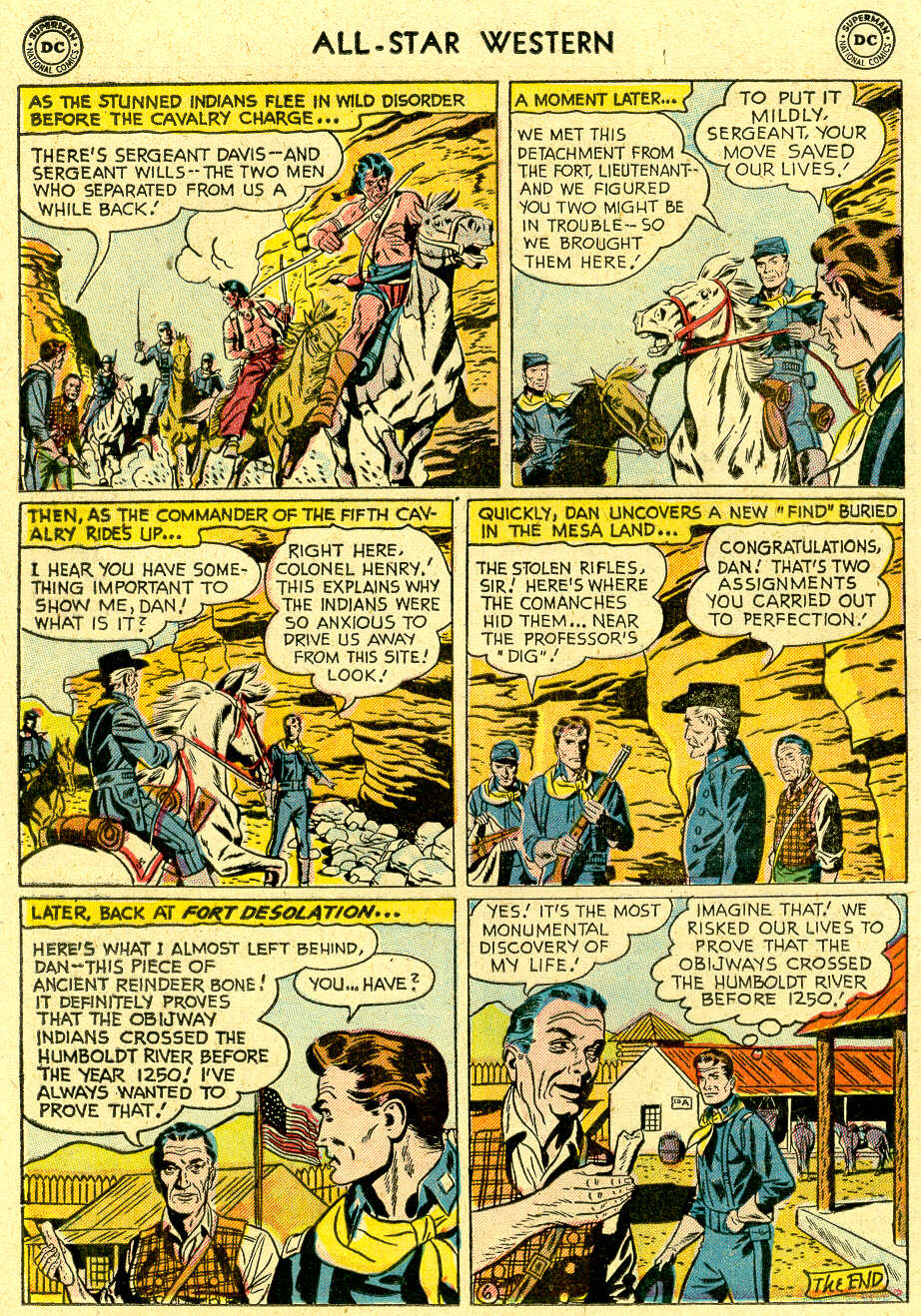 Read online All-Star Western (1951) comic -  Issue #83 - 24