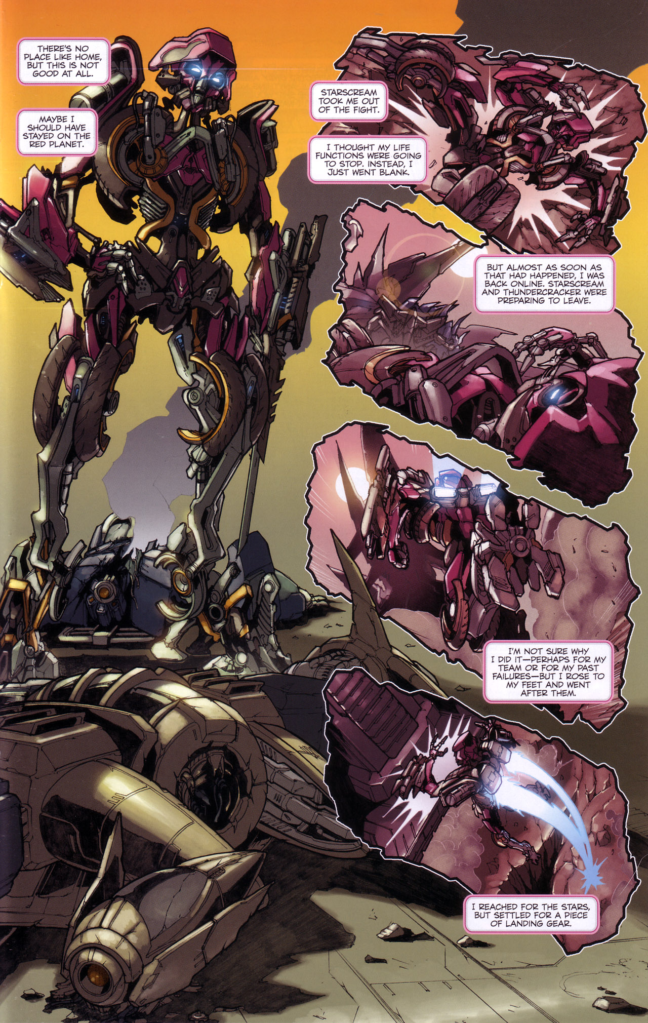 Read online Transformers: The Reign of Starscream comic -  Issue #4 - 11