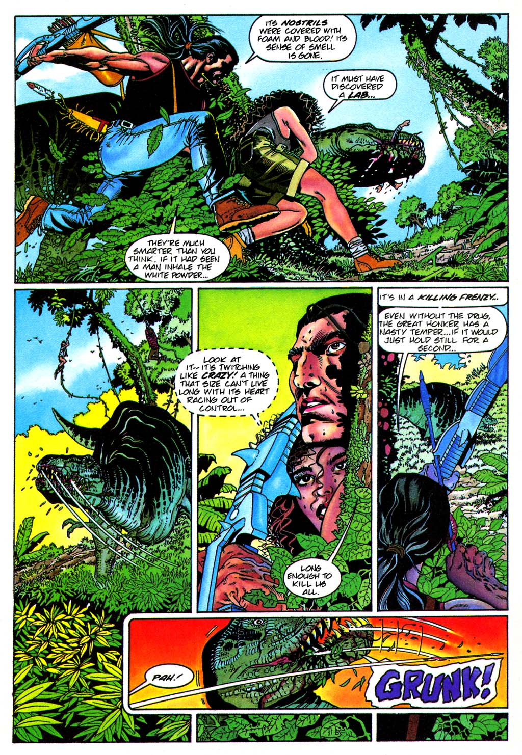 Read online Turok, Dinosaur Hunter (1993) comic -  Issue #28 - 14