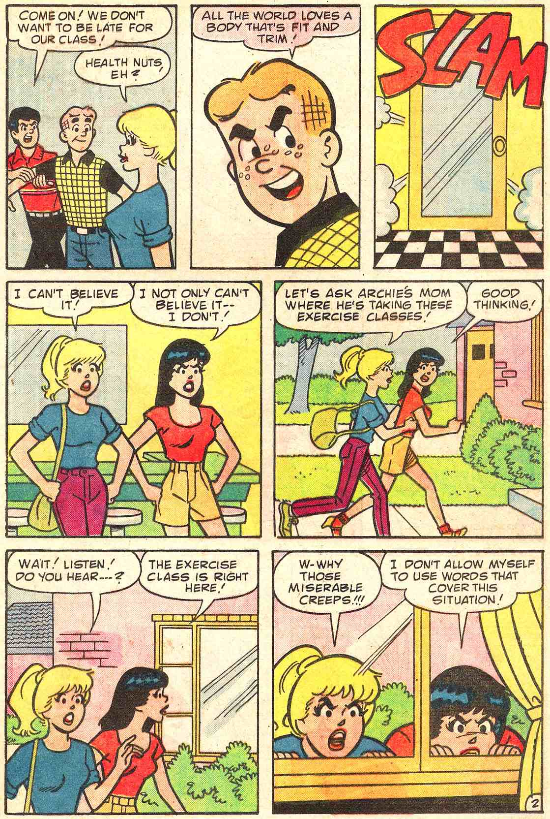 Read online Archie's Girls Betty and Veronica comic -  Issue #331 - 21