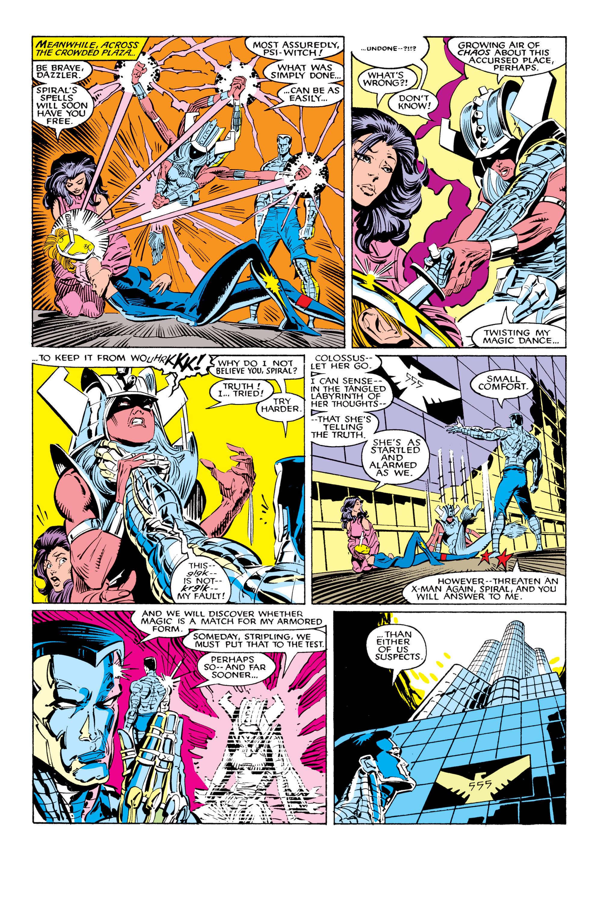 Read online Uncanny X-Men (1963) comic -  Issue #226 - 21