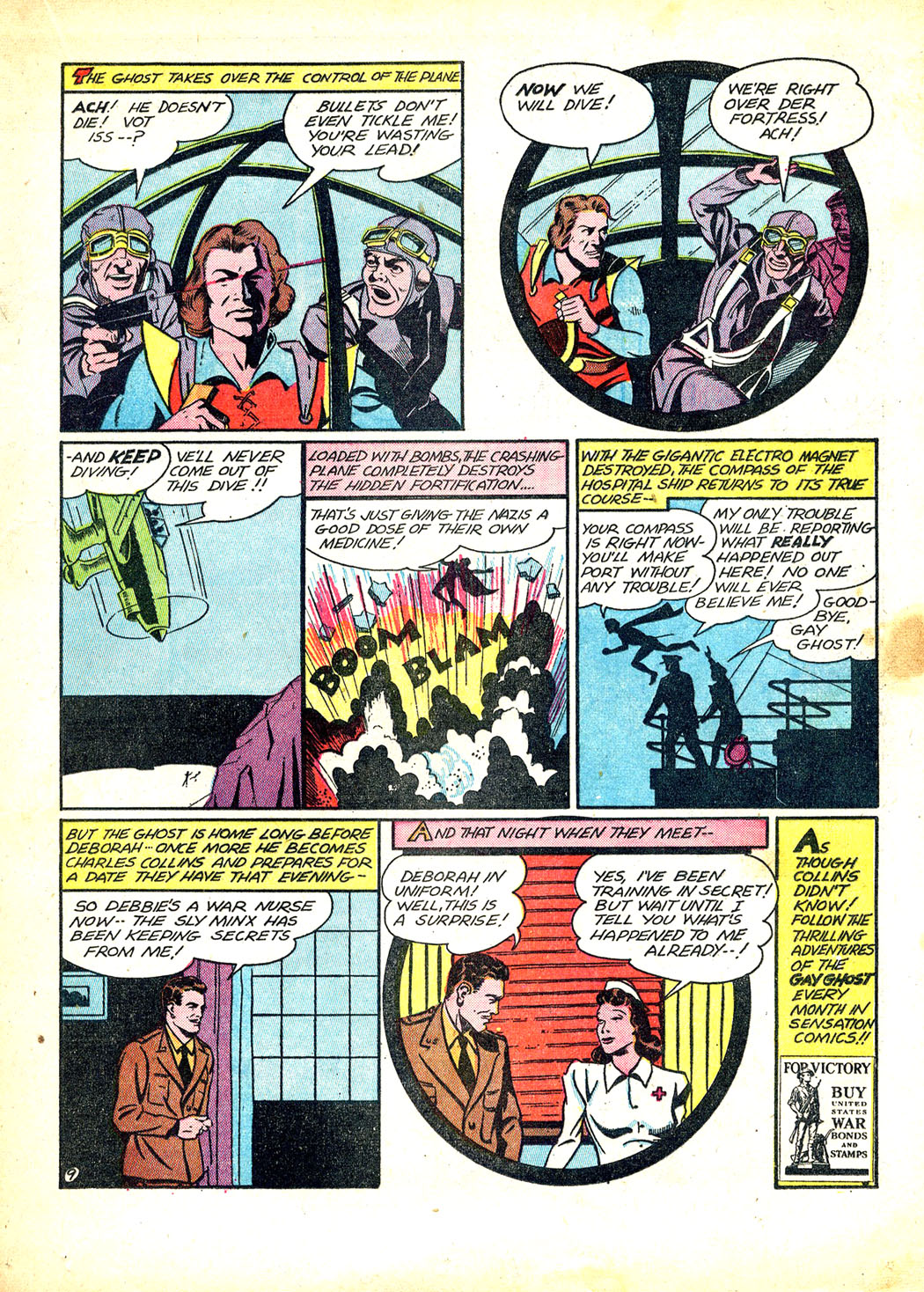 Read online Sensation (Mystery) Comics comic -  Issue #12 - 33