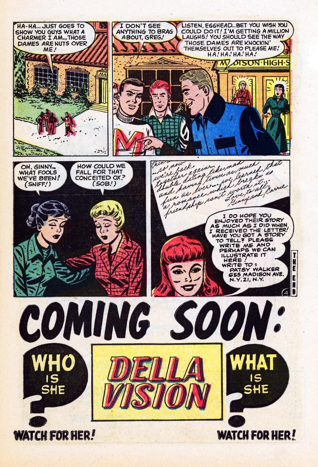 Read online Patsy Walker comic -  Issue #58 - 23