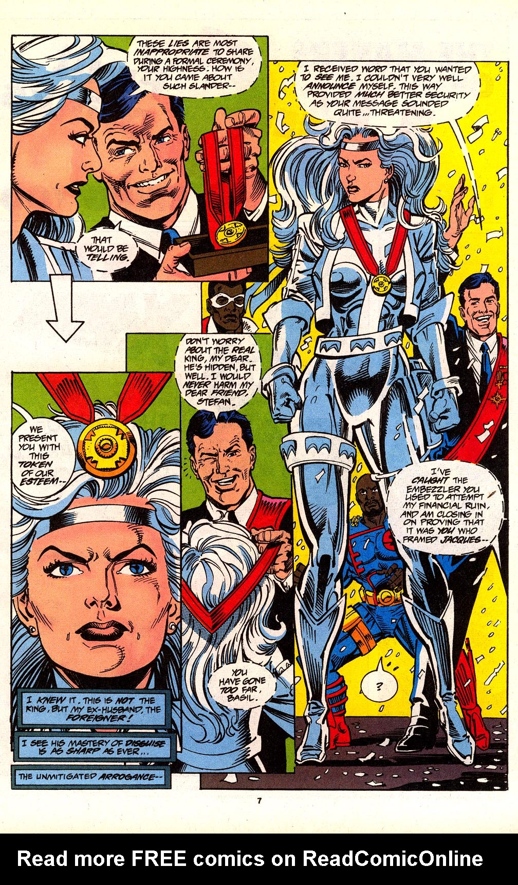 Read online Silver Sable and the Wild Pack comic -  Issue #24 - 7