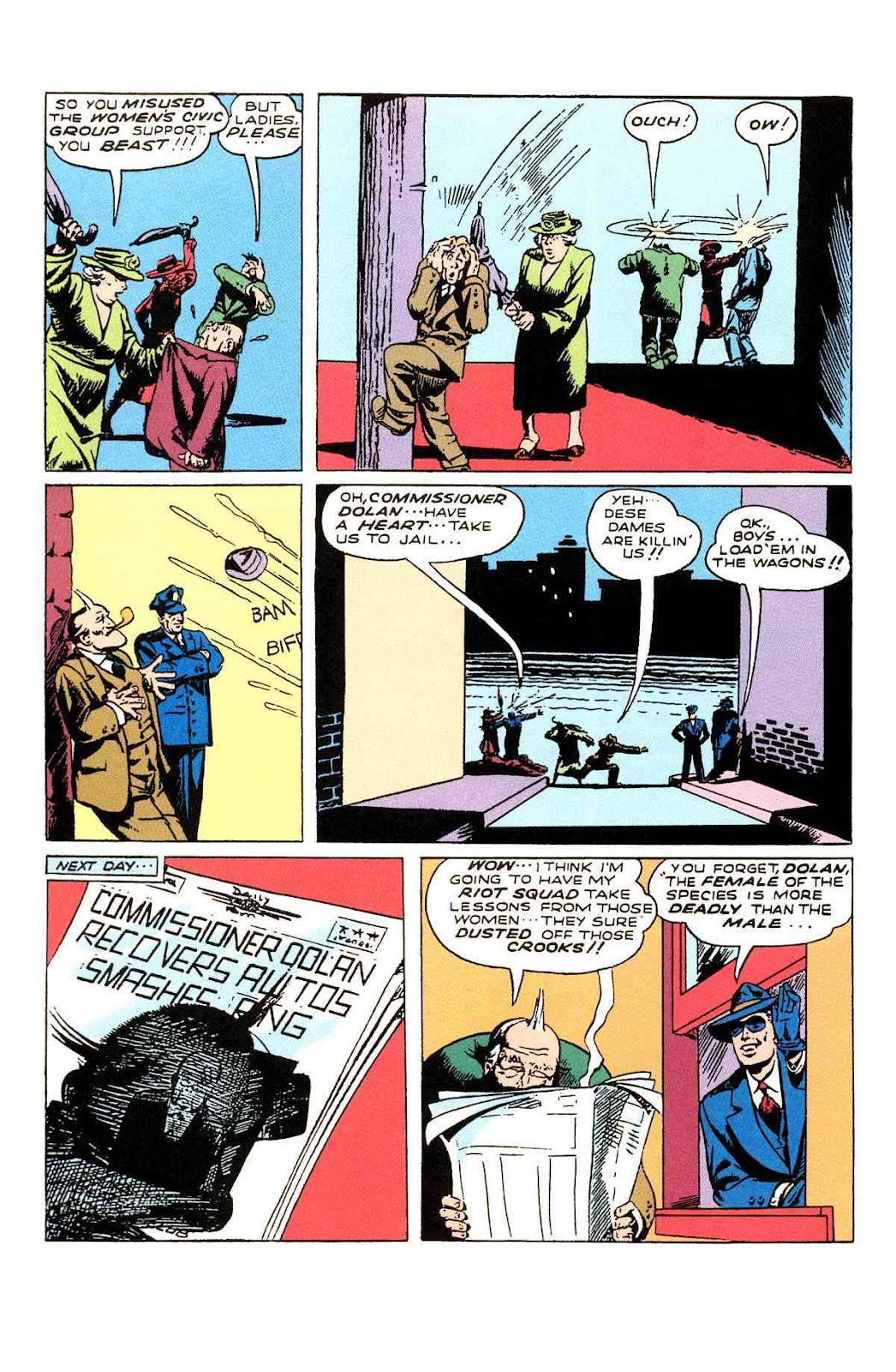 Read online Will Eisner's The Spirit Archives comic -  Issue # TPB 3 (Part 1) - 17