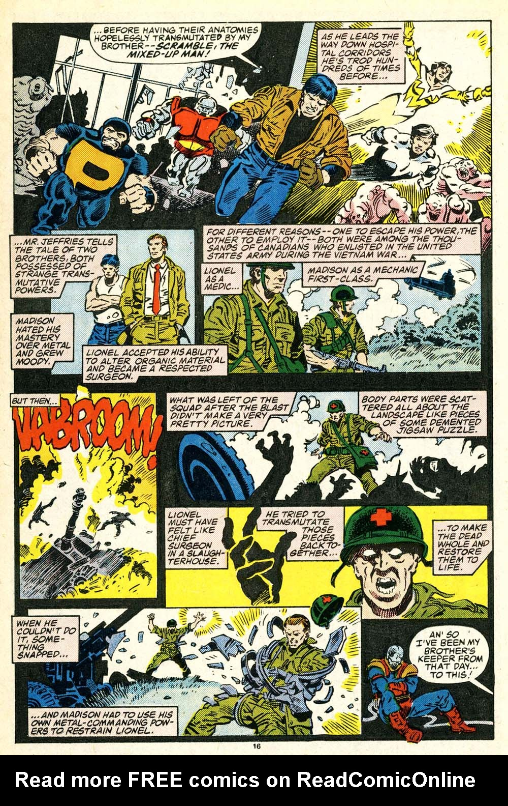 Read online Alpha Flight (1983) comic -  Issue #30 - 17