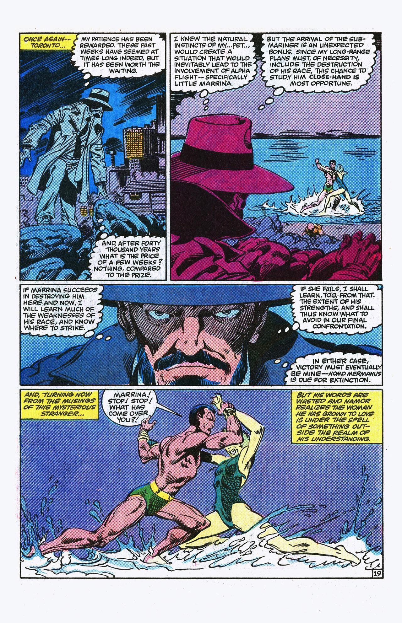 Read online Alpha Flight (1983) comic -  Issue #15 - 20