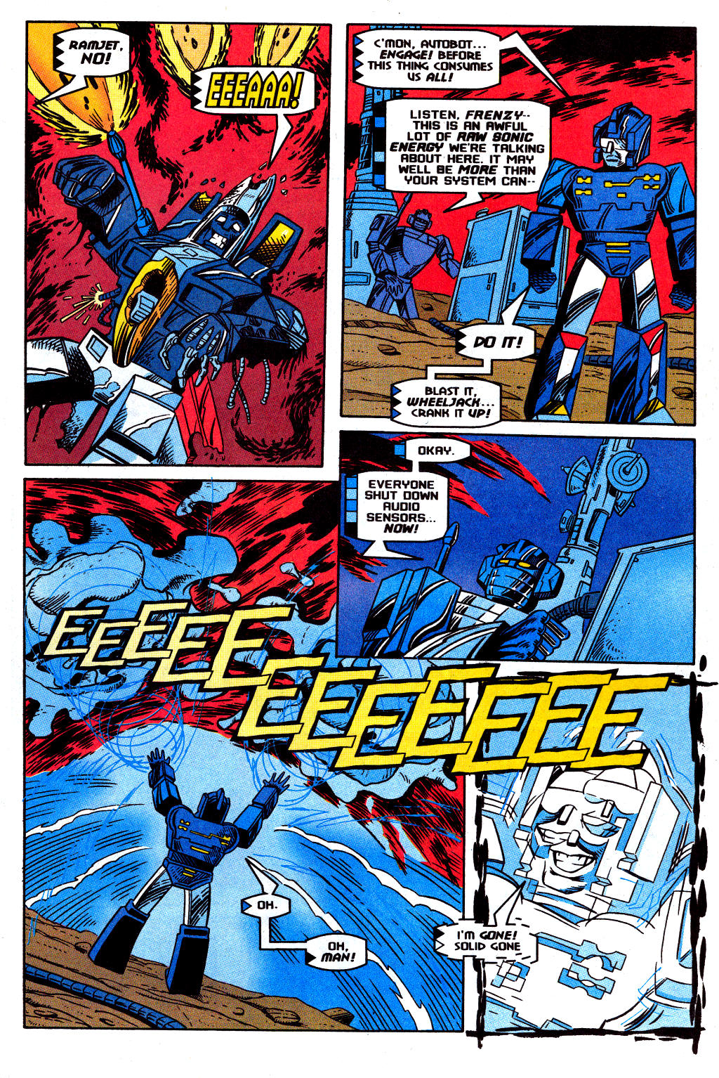 Read online Transformers: Generation 2 comic -  Issue #12 - 27