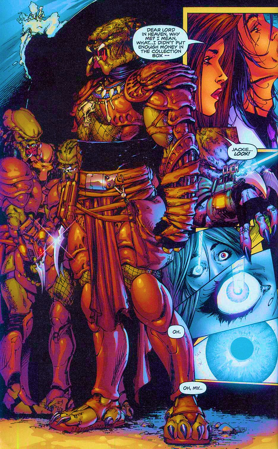 Read online Overkill: Witchblade/Aliens/Darkness/Predator comic -  Issue #2 - 31