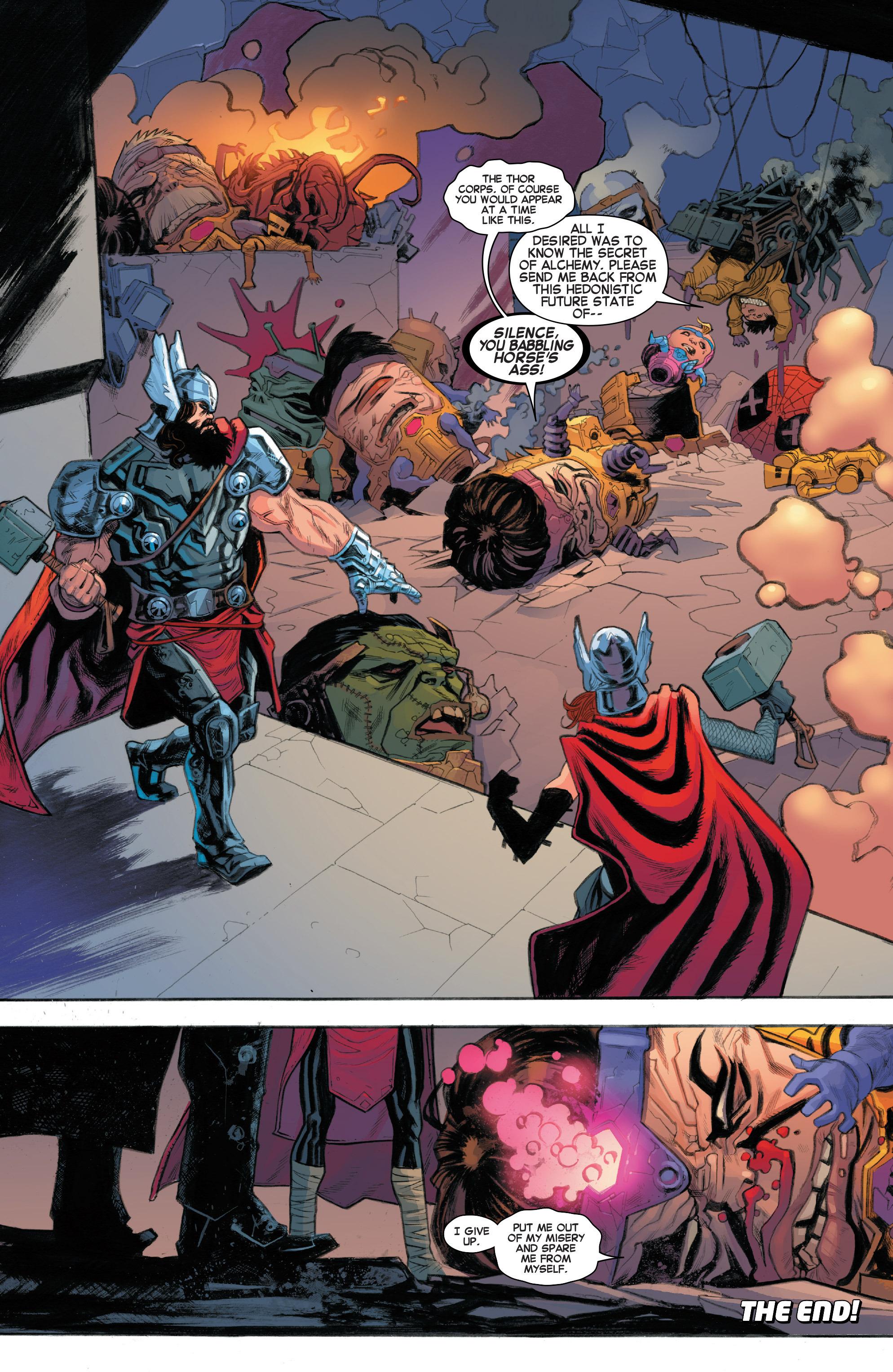 Read online Secret Wars: Battleworld comic -  Issue #1 - 21