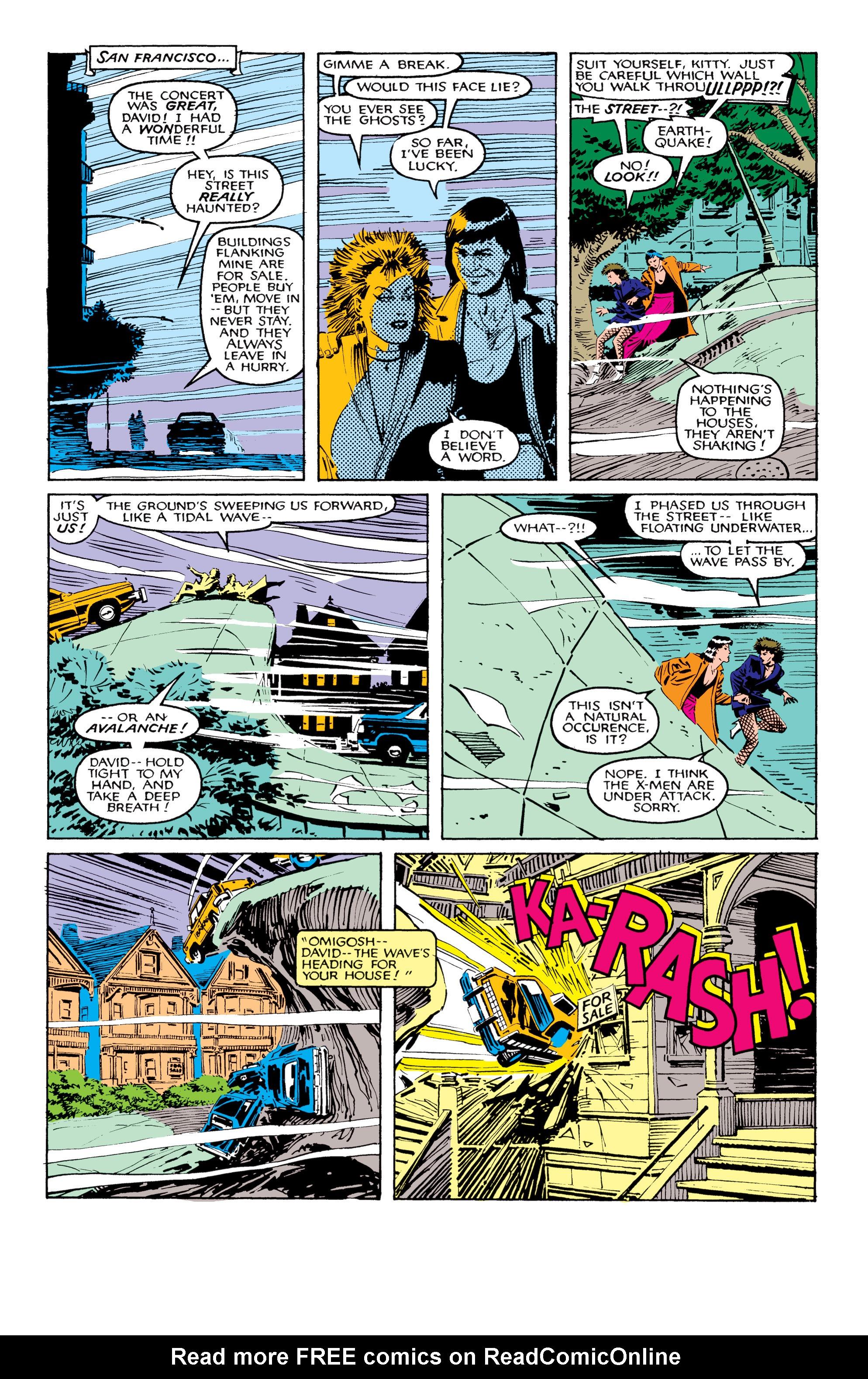 Read online Uncanny X-Men (1963) comic -  Issue #206 - 10