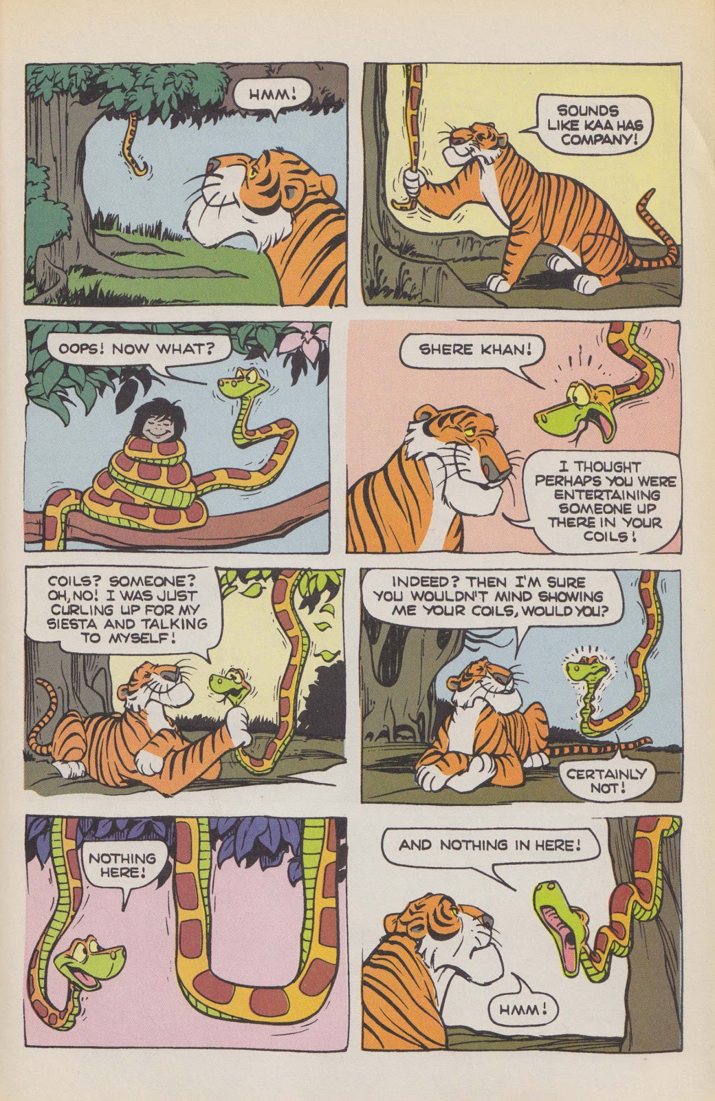 Read online The Jungle Book comic -  Issue # Full - 47