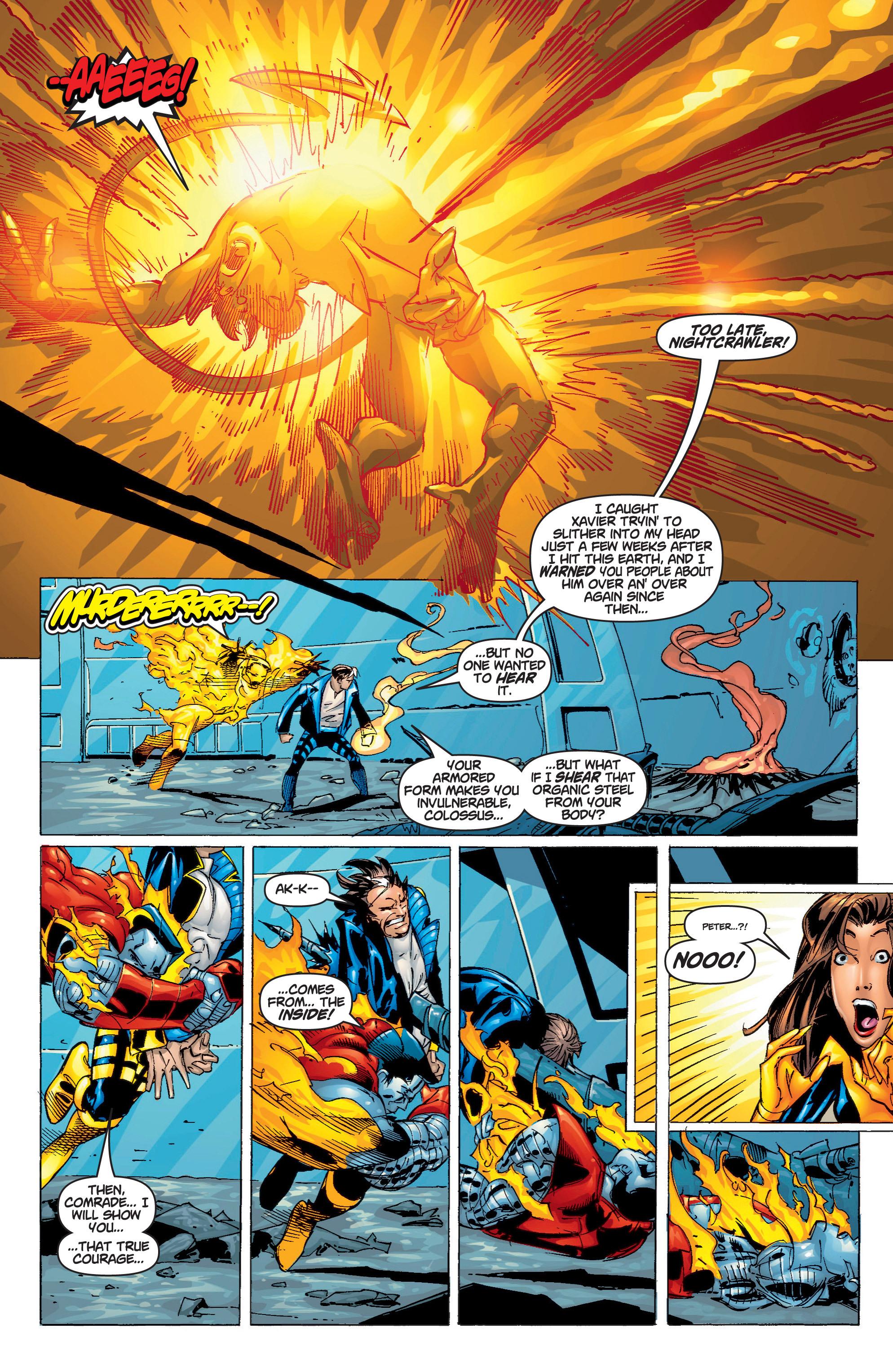 Read online Uncanny X-Men (1963) comic -  Issue #375 - 21