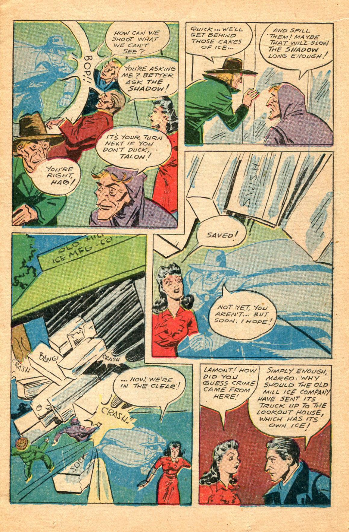 Read online Shadow Comics comic -  Issue #60 - 15