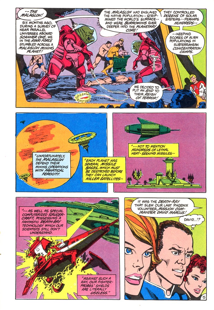 Read online Atari Force (1982) comic -  Issue #4 - 7