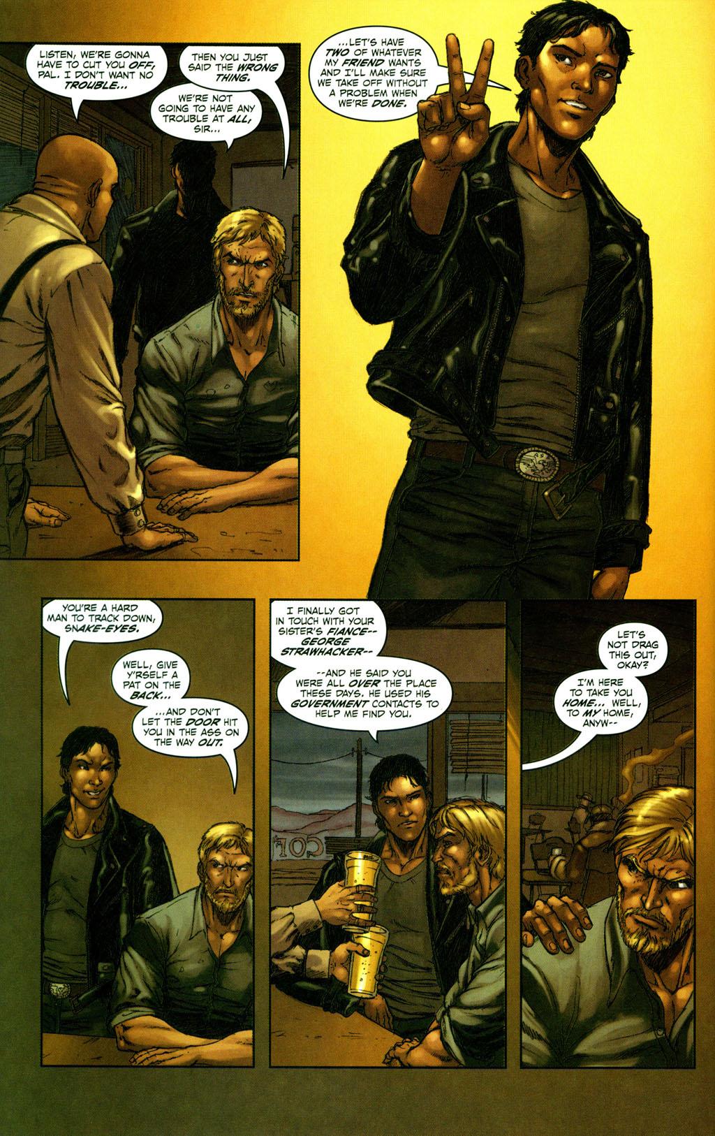 Read online Snake Eyes: Declassified comic -  Issue #2 - 4