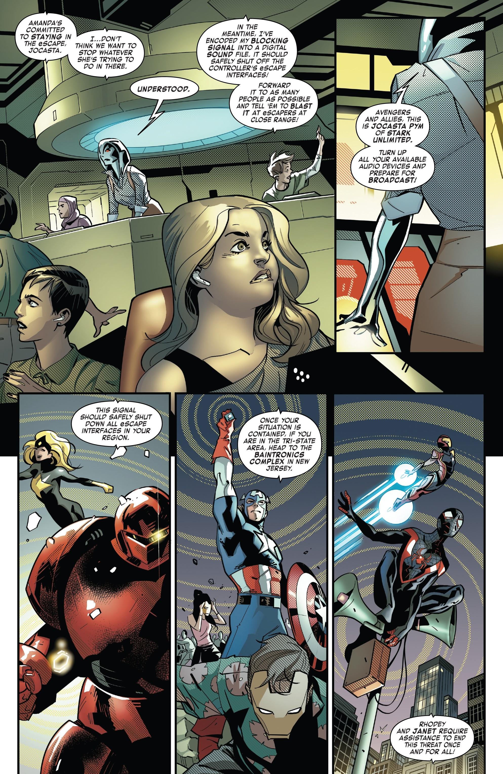 Read online Tony Stark: Iron Man comic -  Issue #10 - 12