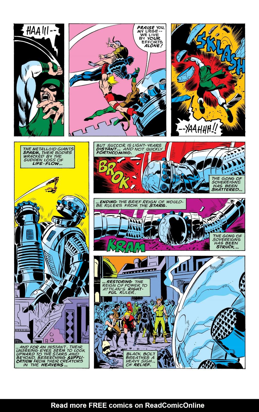 Read online Marvel Masterworks: The Inhumans comic -  Issue # TPB 2 (Part 1) - 43