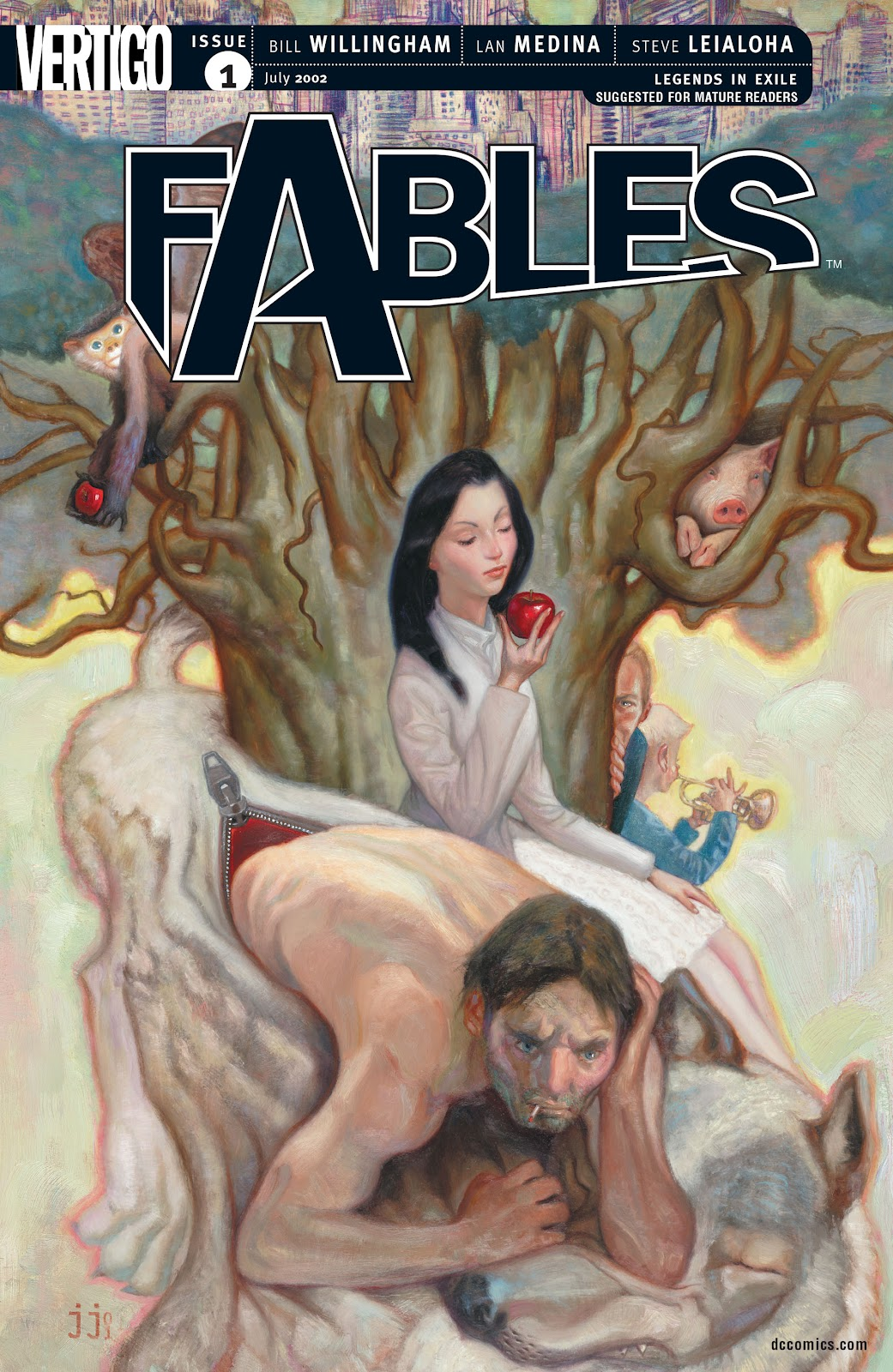Fables issue 1 - Page 1