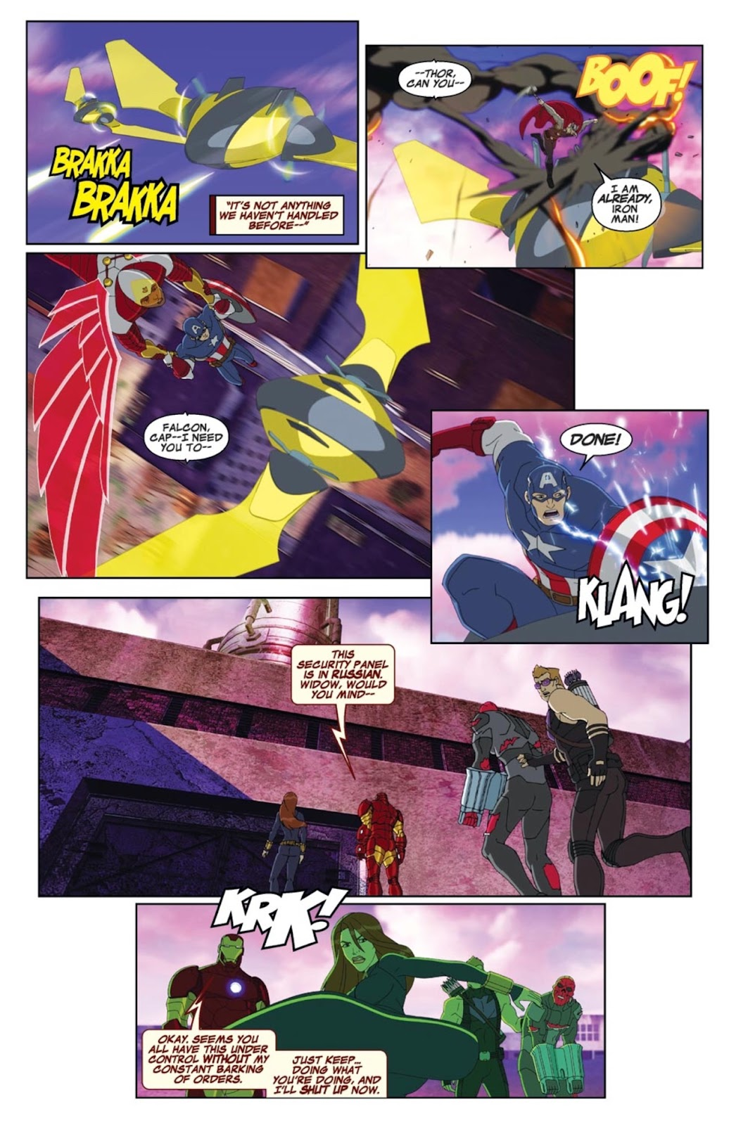 Read online Marvel Universe Avengers Assemble Season 2 comic -  Issue #1 - 13