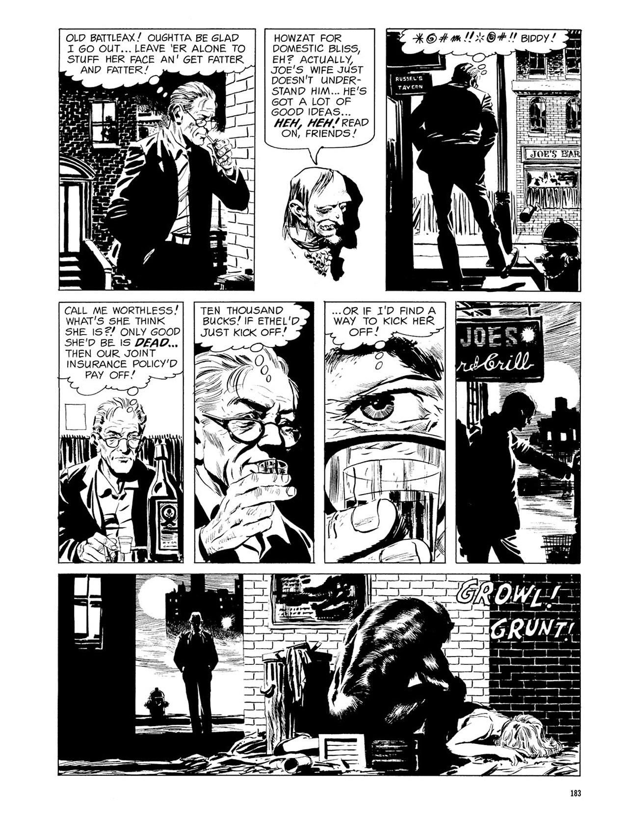Read online Eerie Archives comic -  Issue # TPB 3 - 184