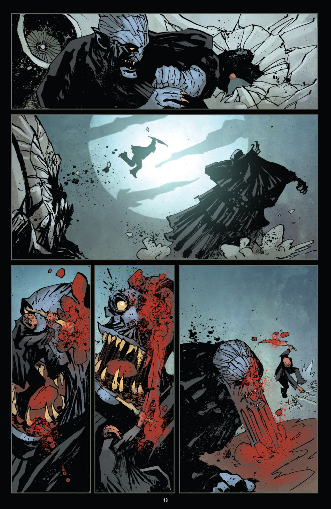 Read online 30 Days of Night (2011) comic -  Issue #12 - 19
