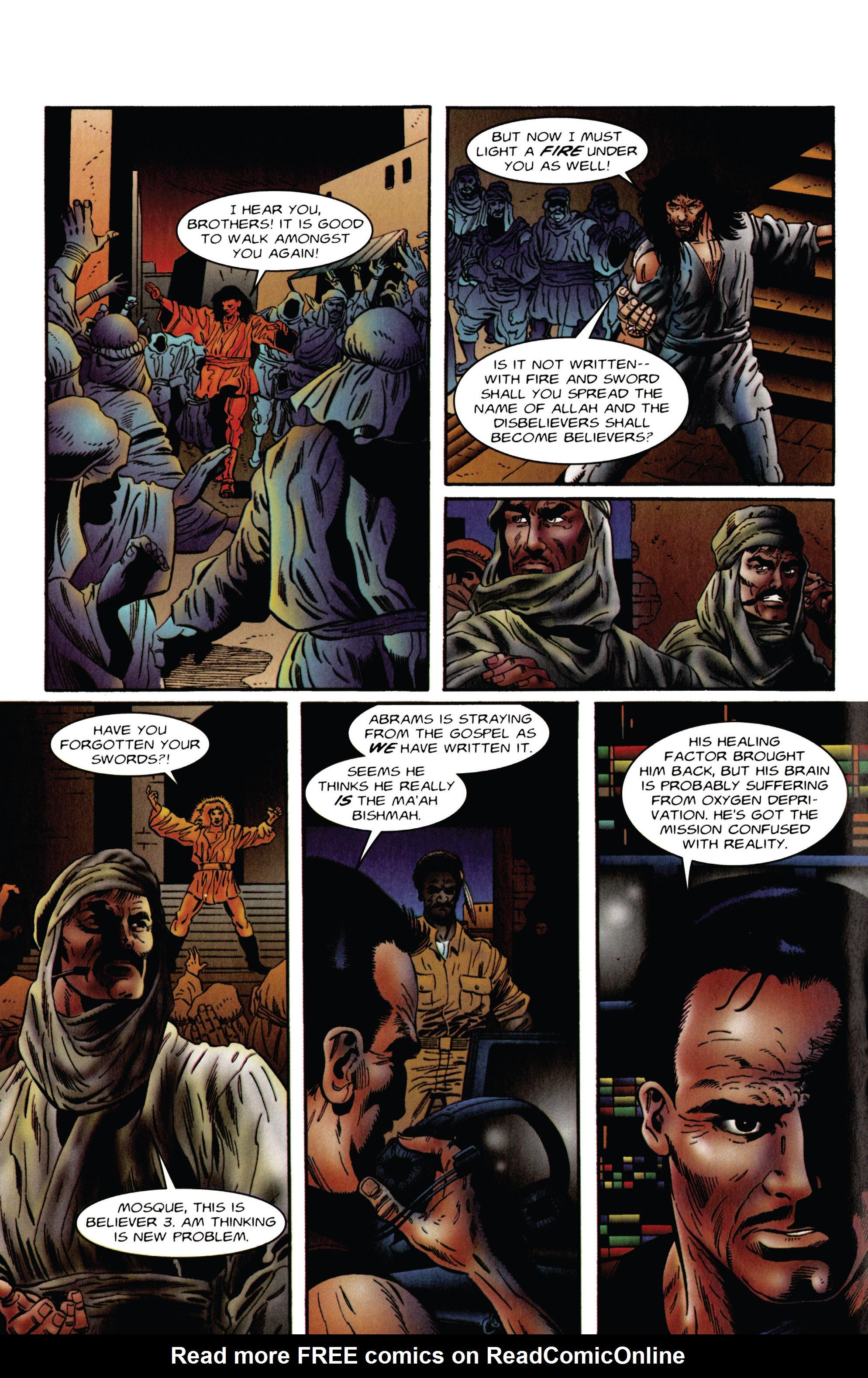 Read online Eternal Warrior (1992) comic -  Issue #48 - 16