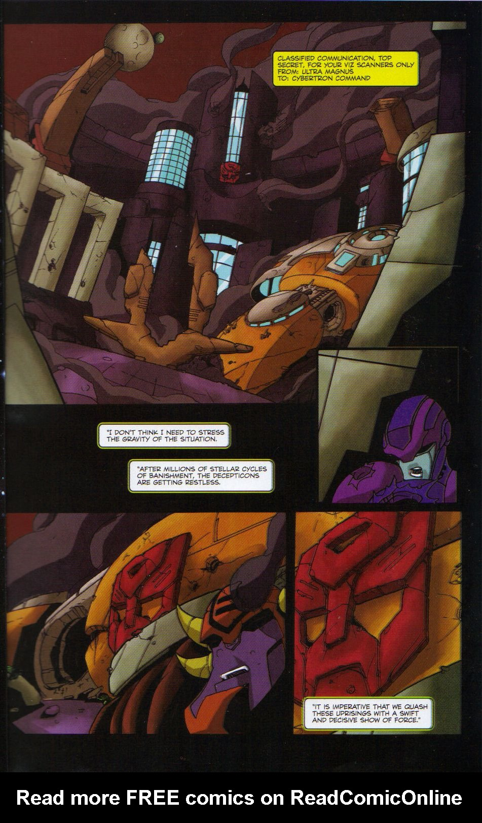 Read online Transformers Animated: The Arrival comic -  Issue #6 - 3