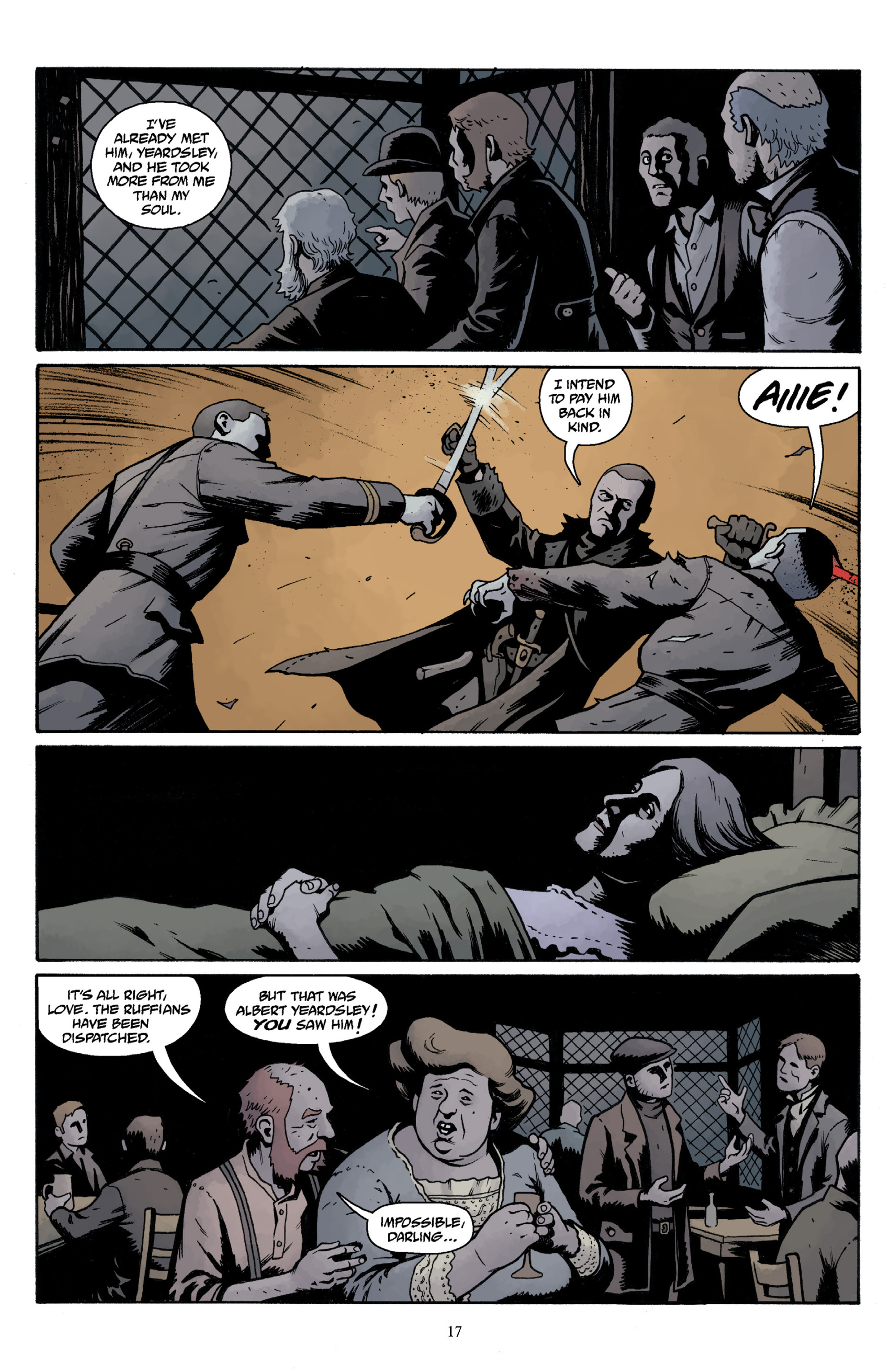 Read online Baltimore Volume 3: A Passing Stranger and Other Stories comic -  Issue # Full - 19