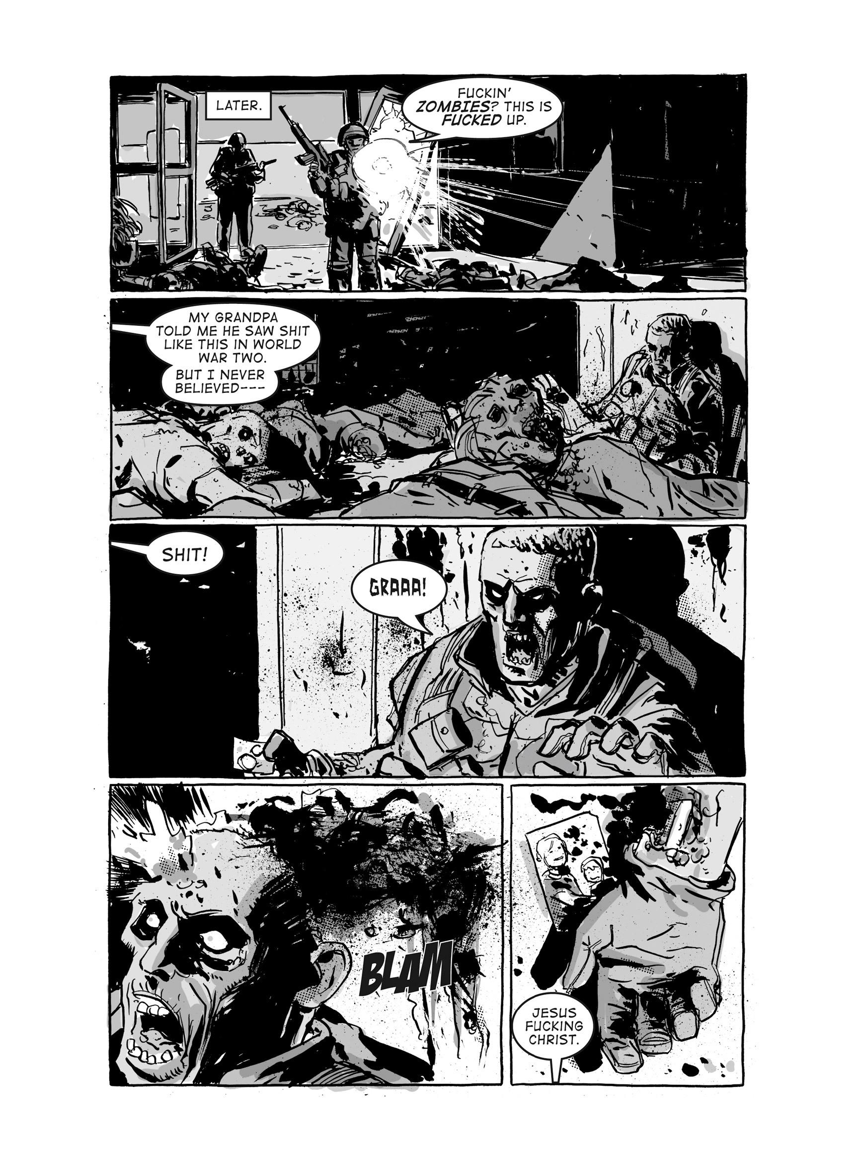 Read online FUBAR comic -  Issue #3 - 380