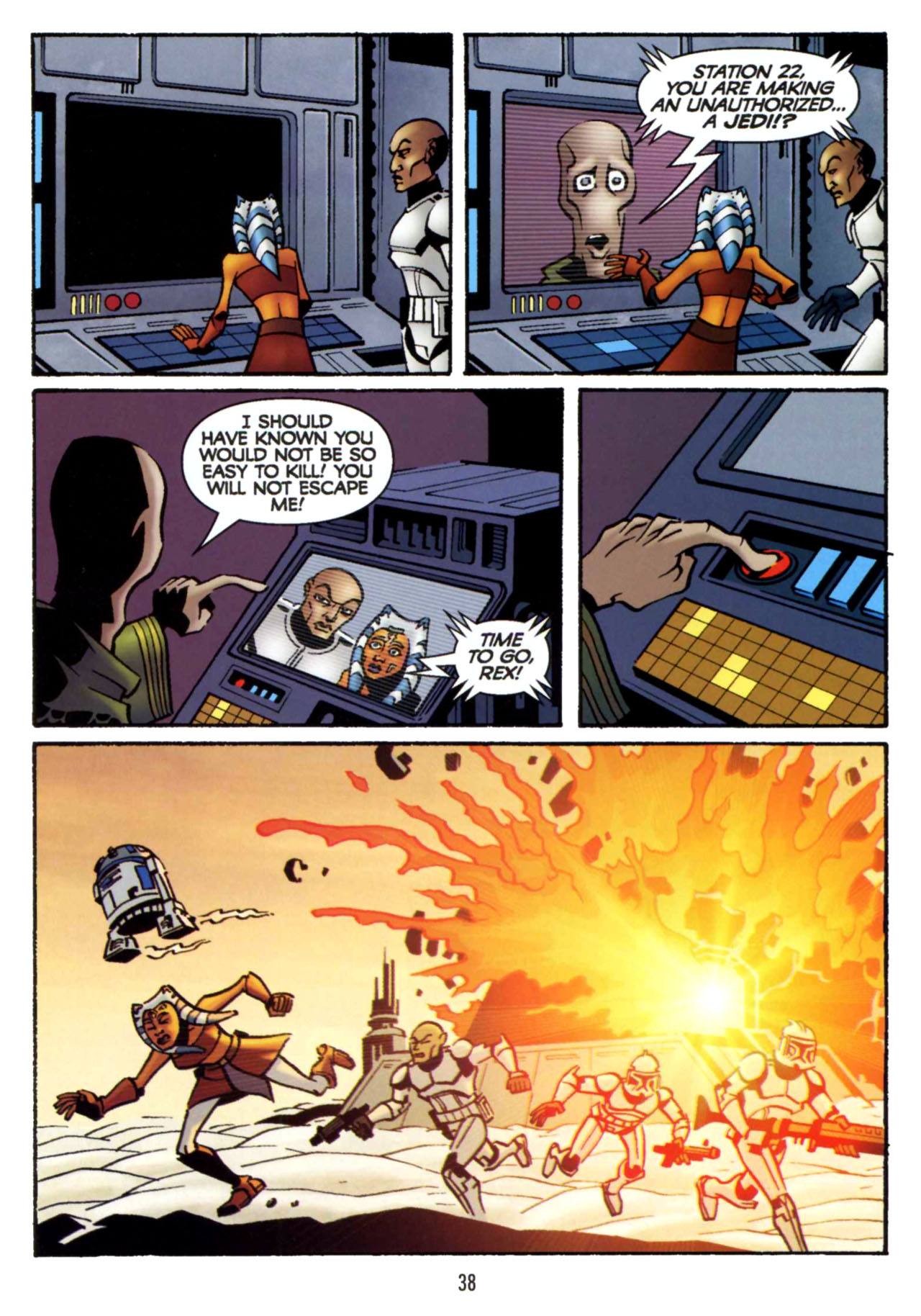 Read online Star Wars: The Clone Wars - Shipyards of Doom comic -  Issue # Full - 36