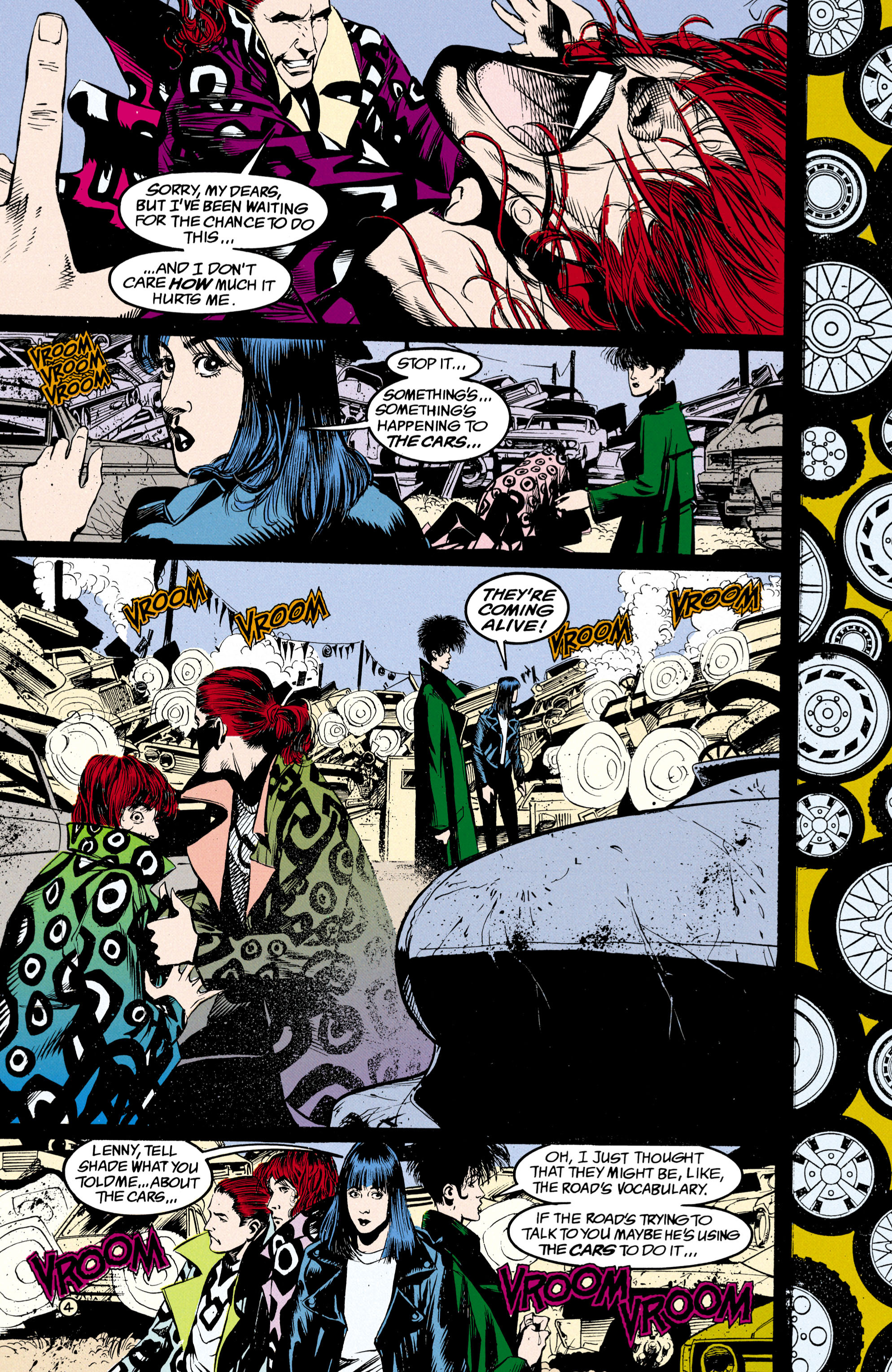Read online Shade, the Changing Man comic -  Issue #24 - 5