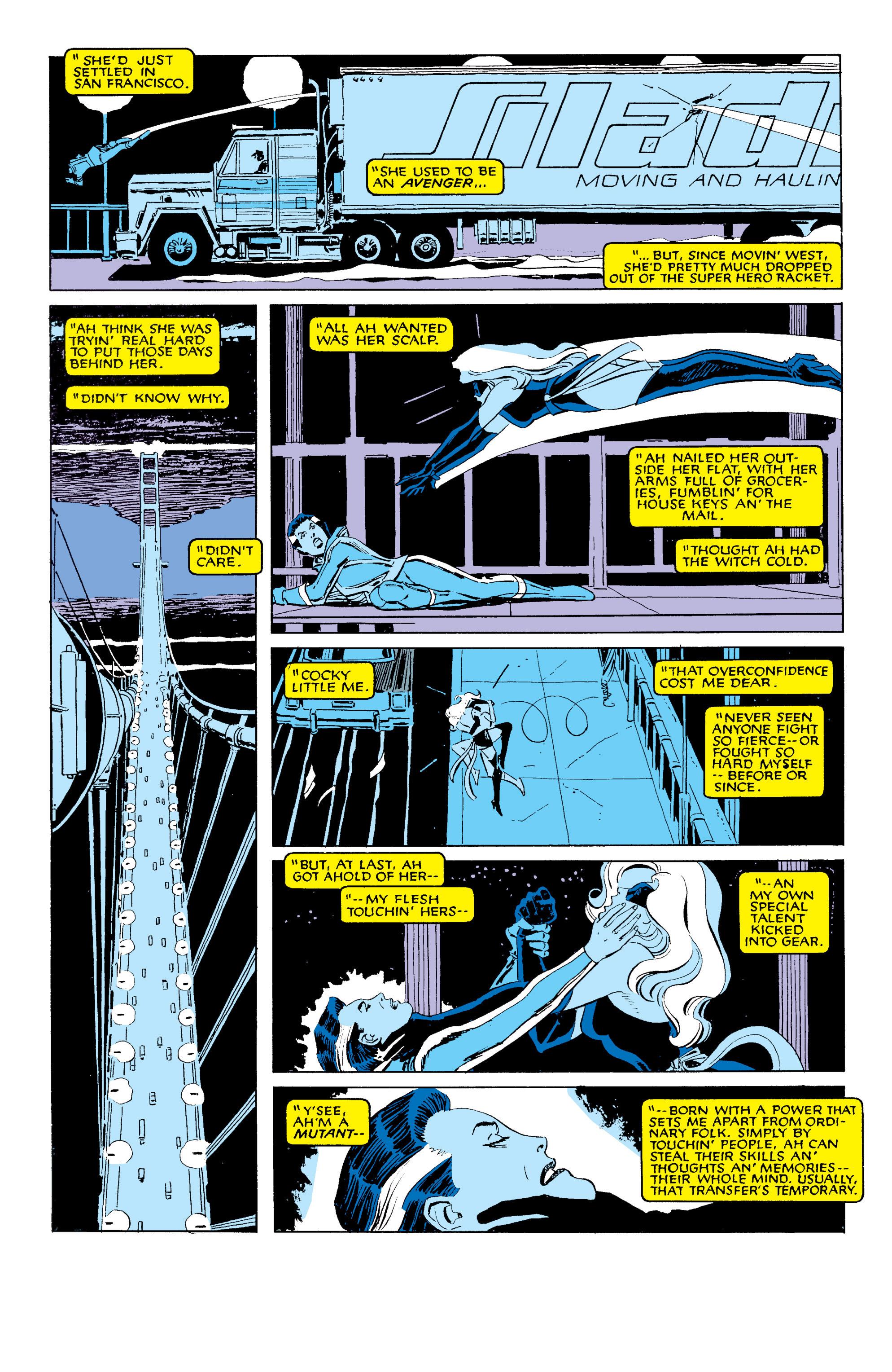 Read online Uncanny X-Men (1963) comic -  Issue #203 - 3