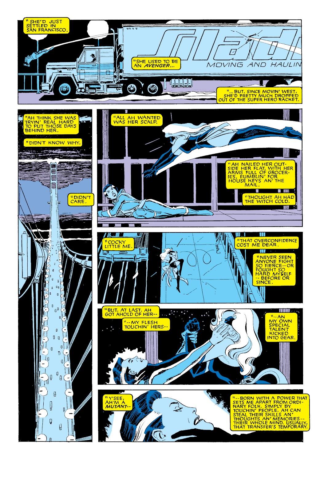 Uncanny X-Men (1963) issue 203 - Page 3