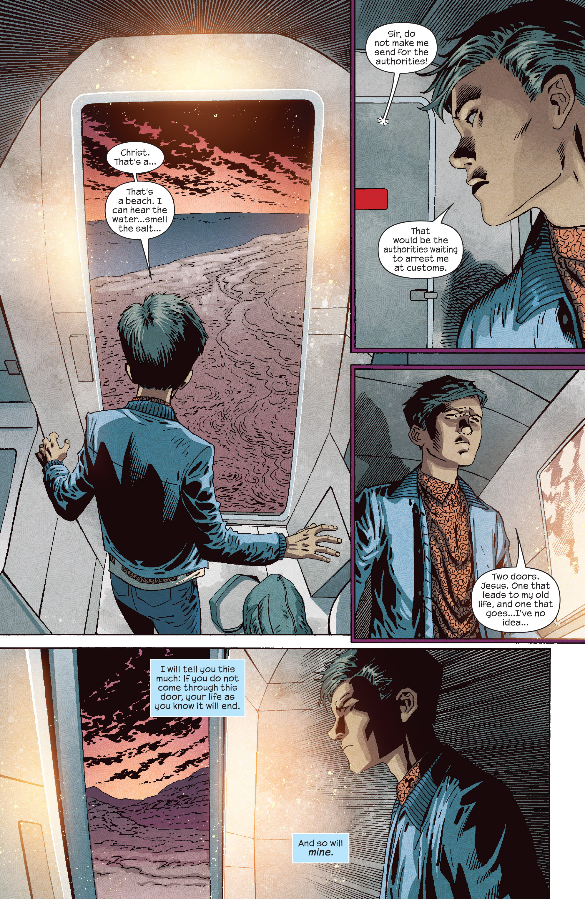 Read online Dark Tower: The Drawing of the Three - The Prisoner comic -  Issue #5 - 17
