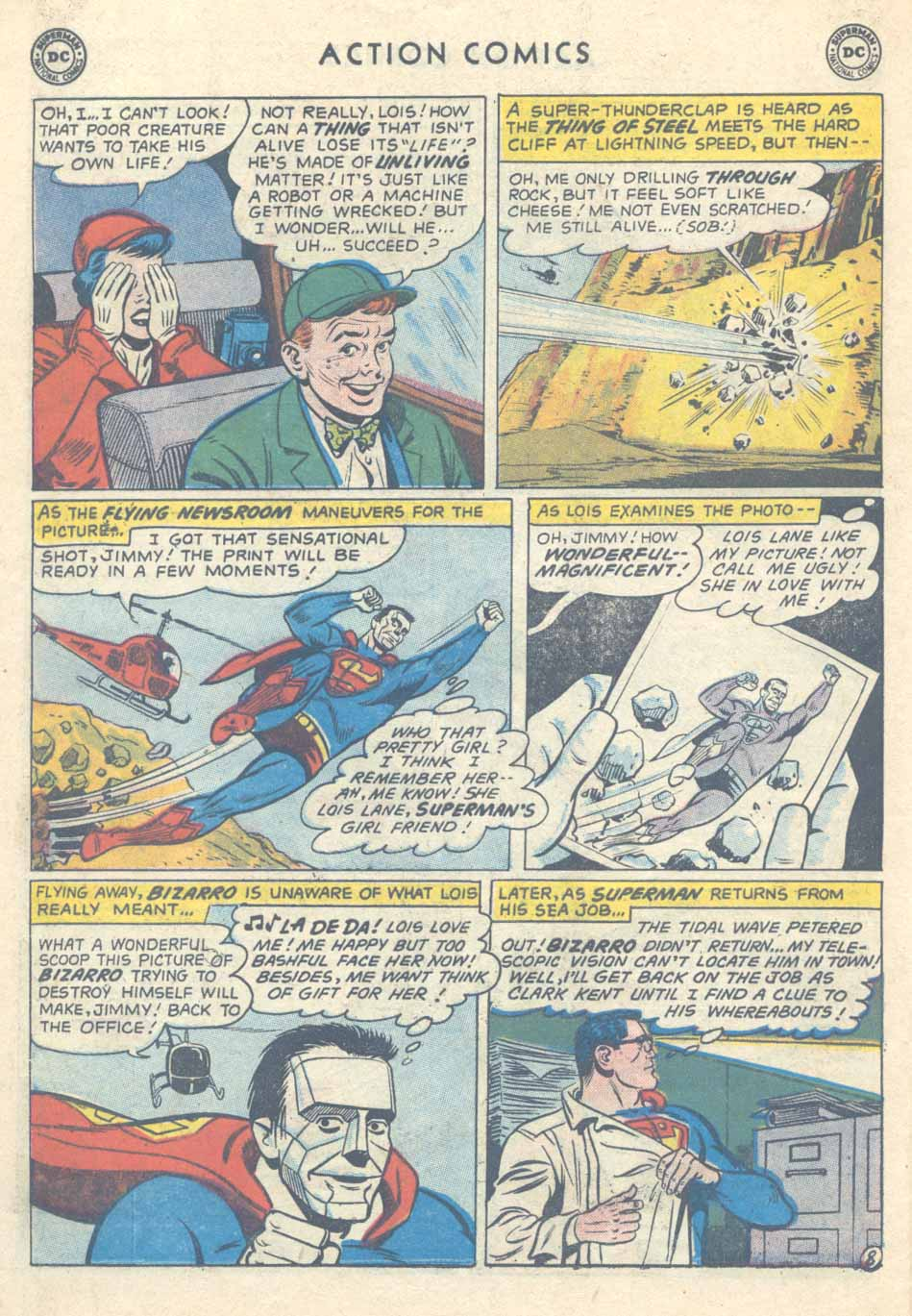 Action Comics (1938) 254 Page 9
