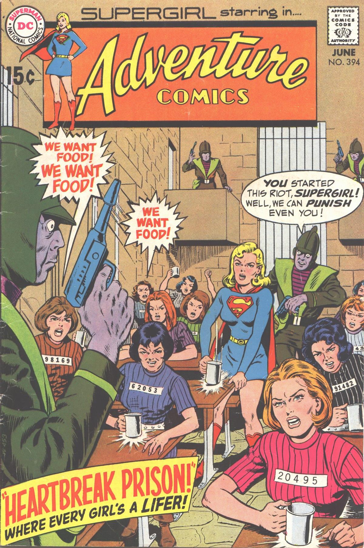 Read online Adventure Comics (1938) comic -  Issue #394 - 1