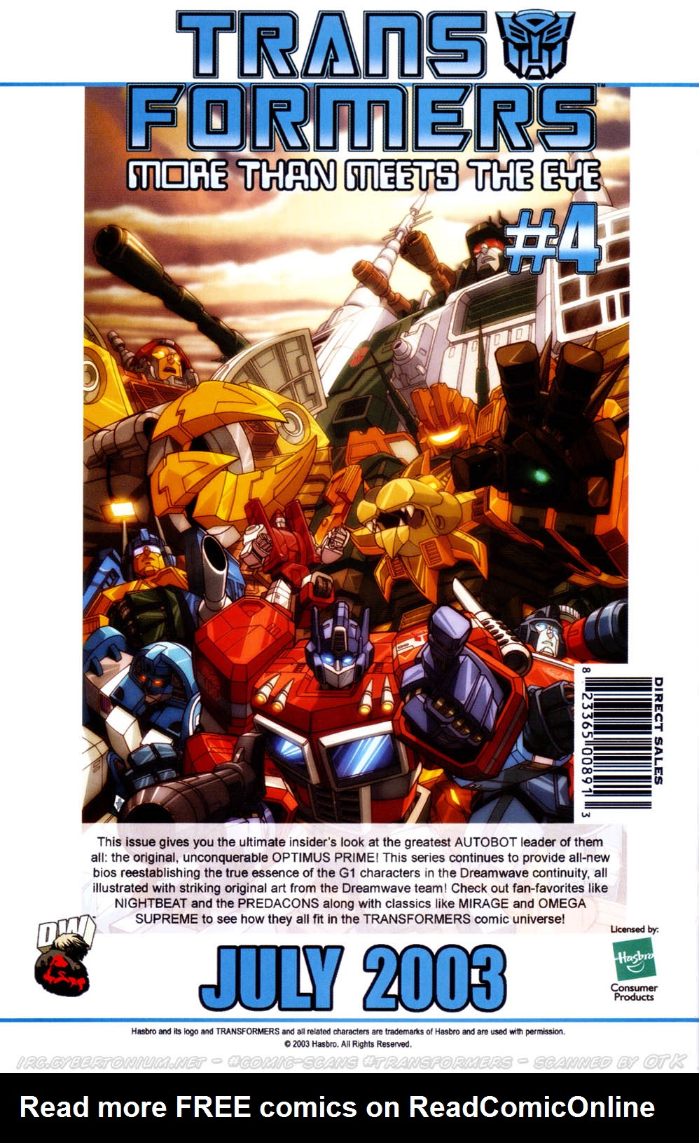 Read online Transformers Armada comic -  Issue #11 - 31