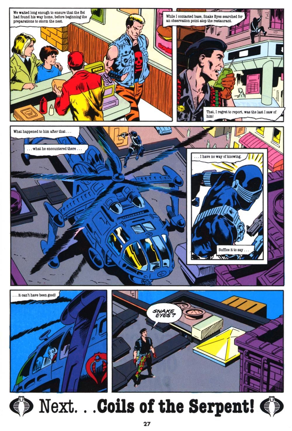 G.I. Joe European Missions issue 10 - Page 27