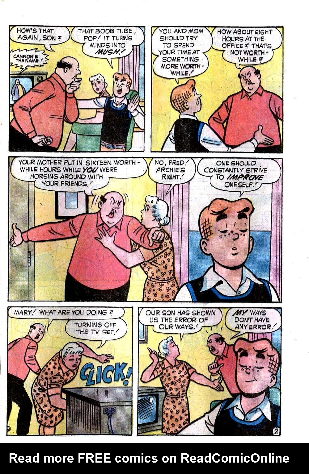 Read online Archie (1960) comic -  Issue #236 - 21