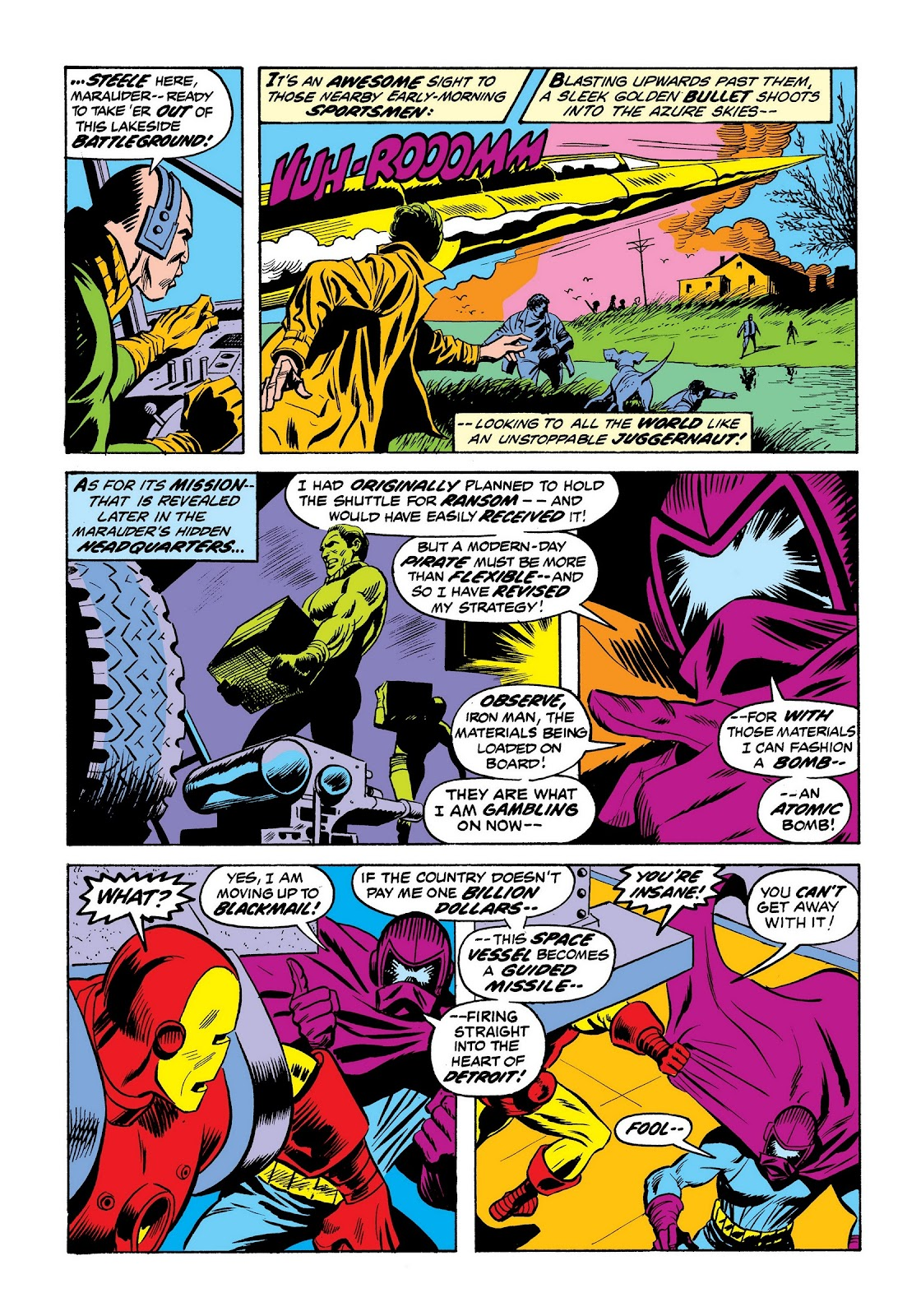 Read online Marvel Masterworks: The Invincible Iron Man comic -  Issue # TPB 9 (Part 2) - 57