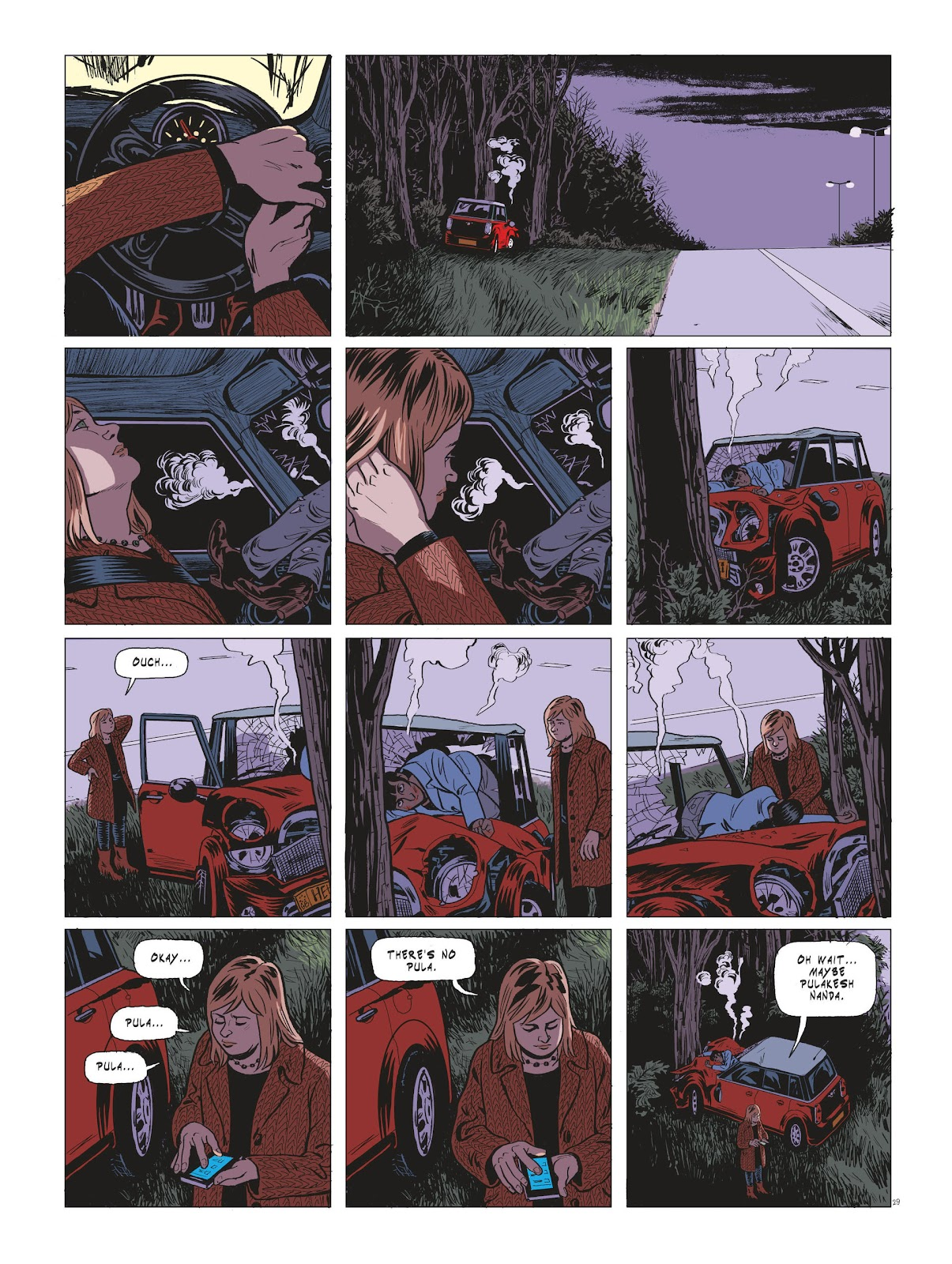 Read online Maggy Garrisson comic -  Issue #3 - 31
