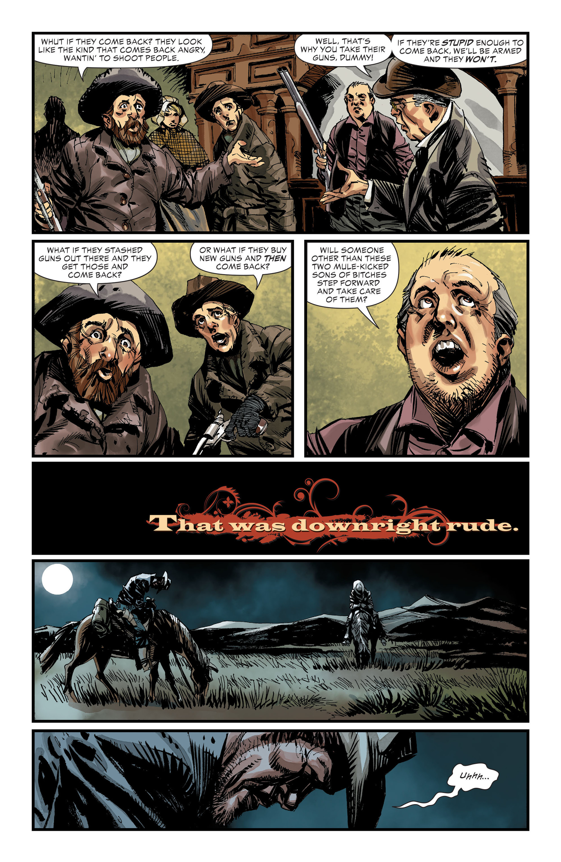 Read online All-Star Western (2011) comic -  Issue #32 - 13