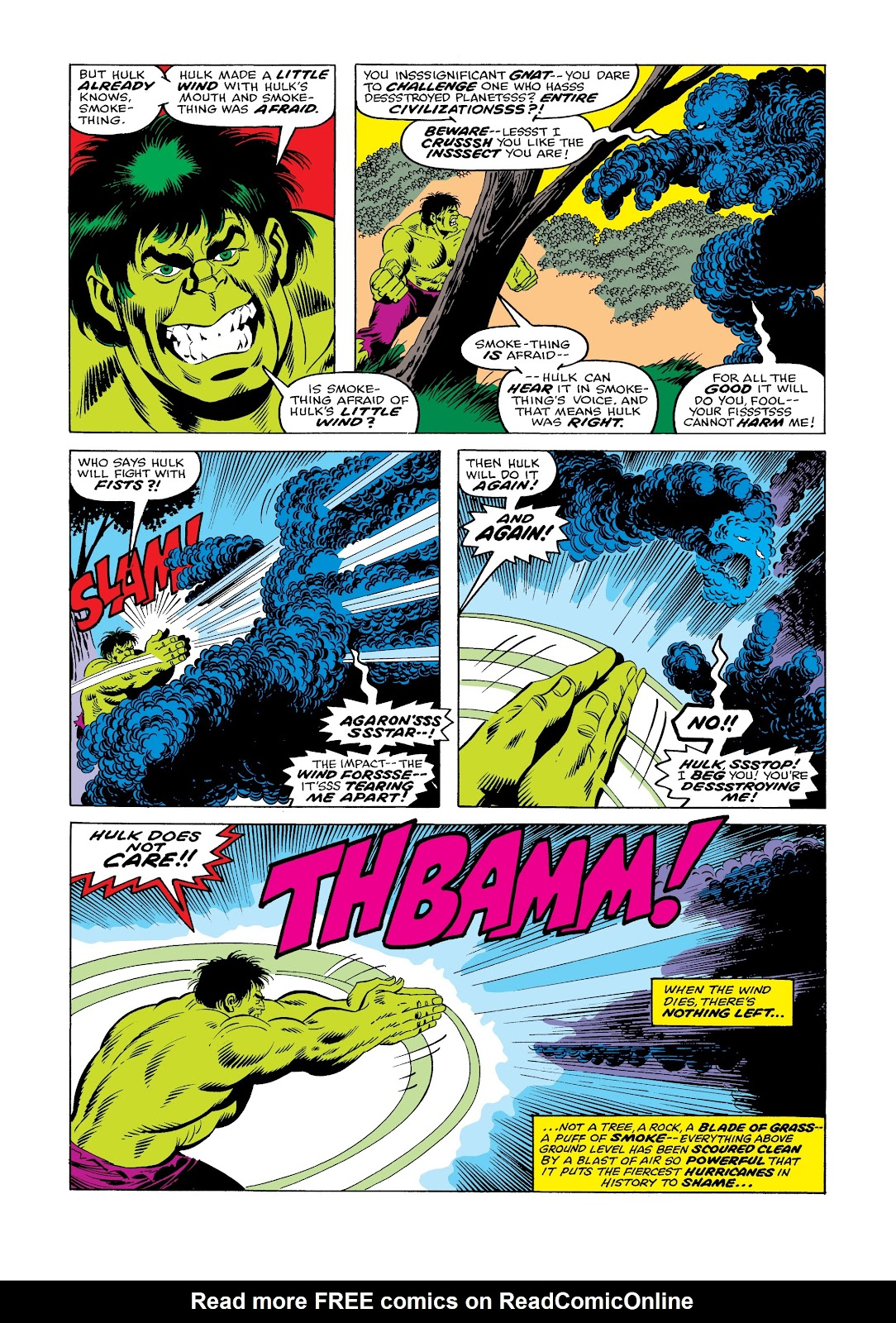Read online Marvel Masterworks: The Incredible Hulk comic -  Issue # TPB 12 (Part 1) - 55