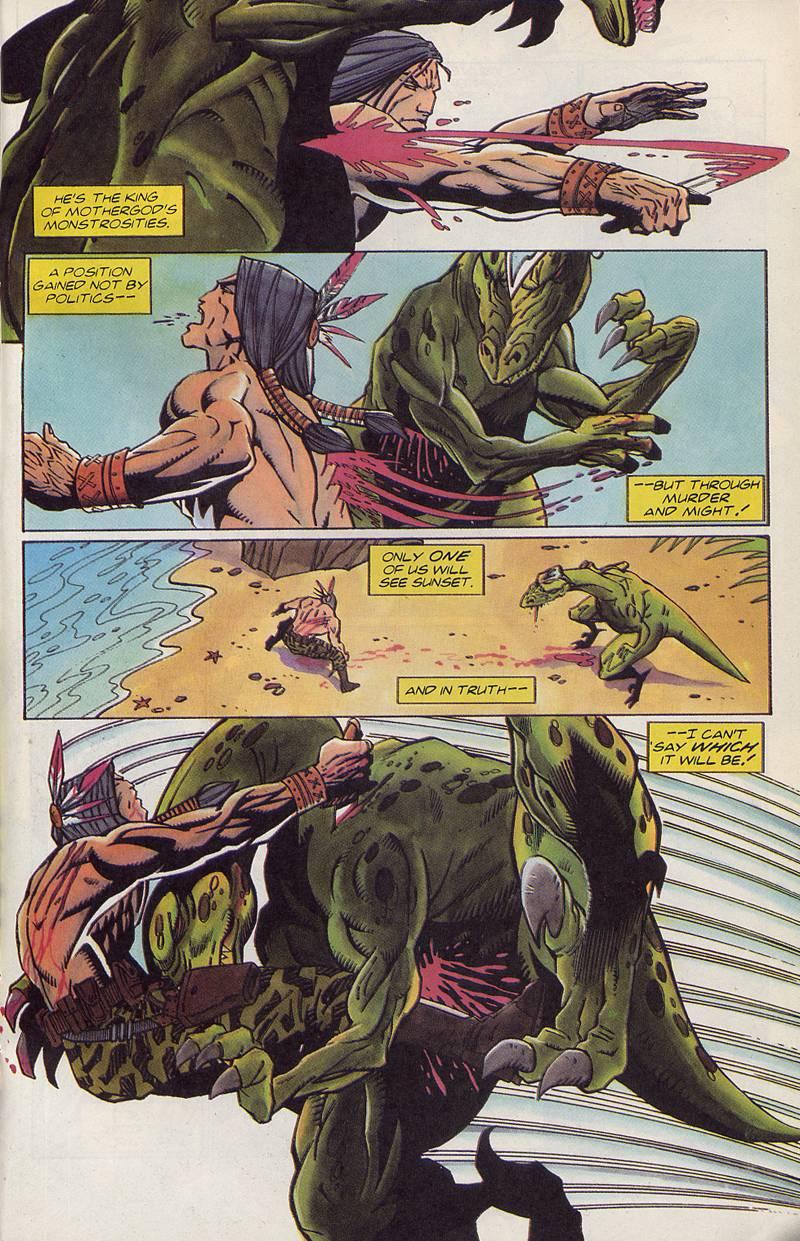 Read online Turok, Dinosaur Hunter (1993) comic -  Issue #3 - 18