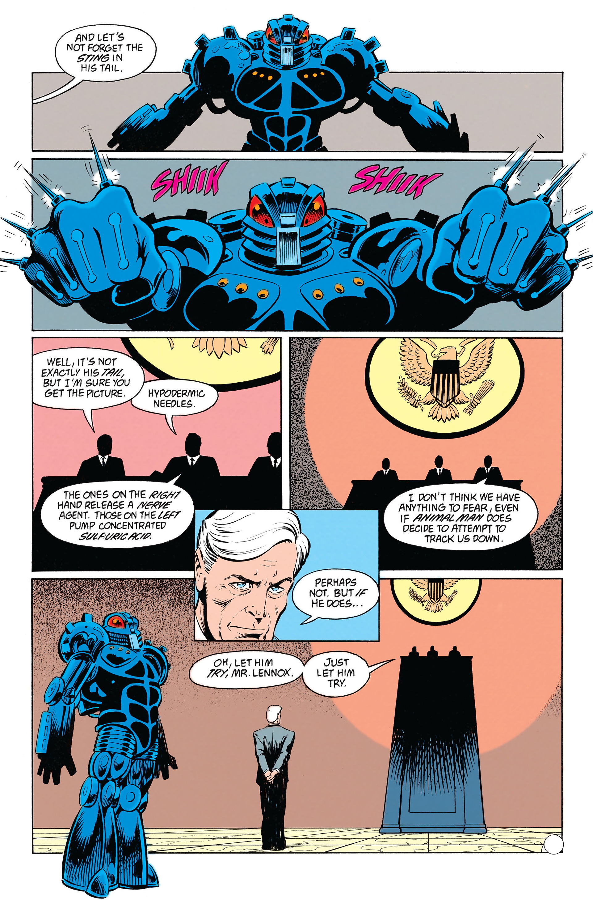 Read online Animal Man (1988) comic -  Issue #20 - 21