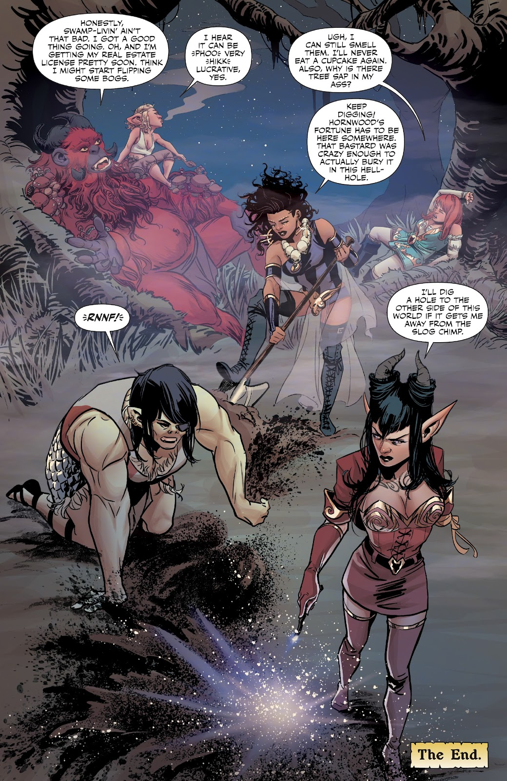 Read online Rat Queens Special: Swamp Romp comic -  Issue # Full - 22