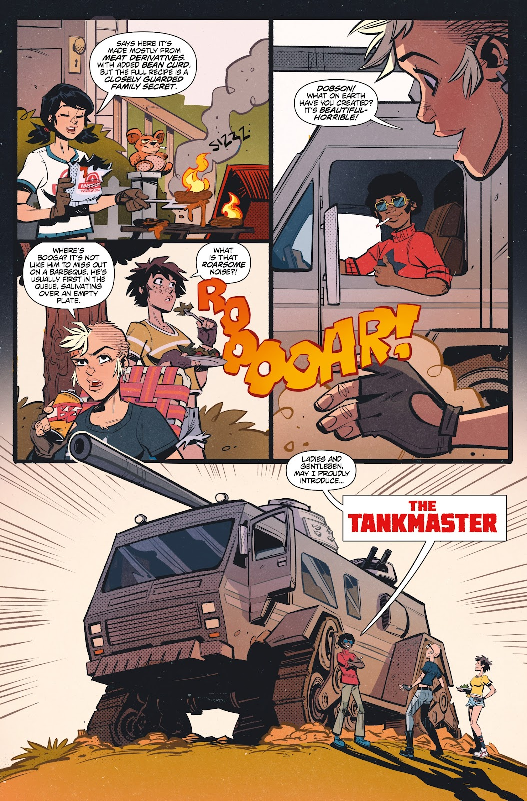 Read online Tank Girl Ongoing comic -  Issue #1 - 10