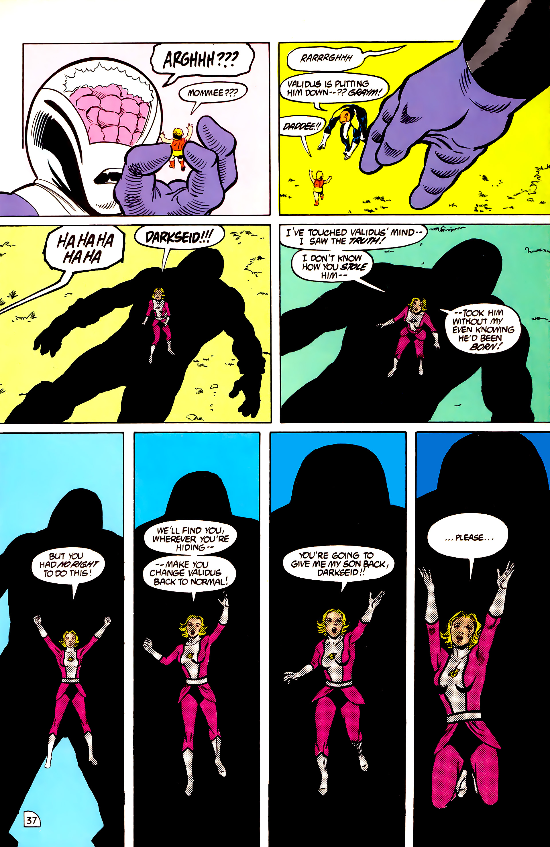 Legion of Super-Heroes (1984) _Annual_2 Page 38